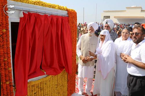 Inauguration of Newly constructed Sant Nirankari Satsang Bhawan