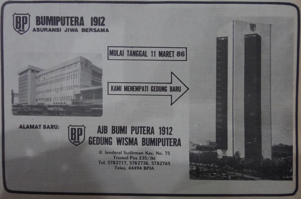 AJB Bumiputera 1912 - Kompas, 14 Maret 1986