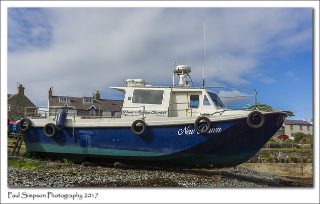 Fishing Boat in Northumberland