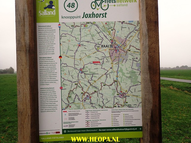 2017-10-24         Raalte 1e dag          31 Km  (123)