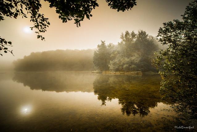 Bretagne-Iffendic-Miroir dans la Brume