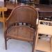 Cane framed club chair E20