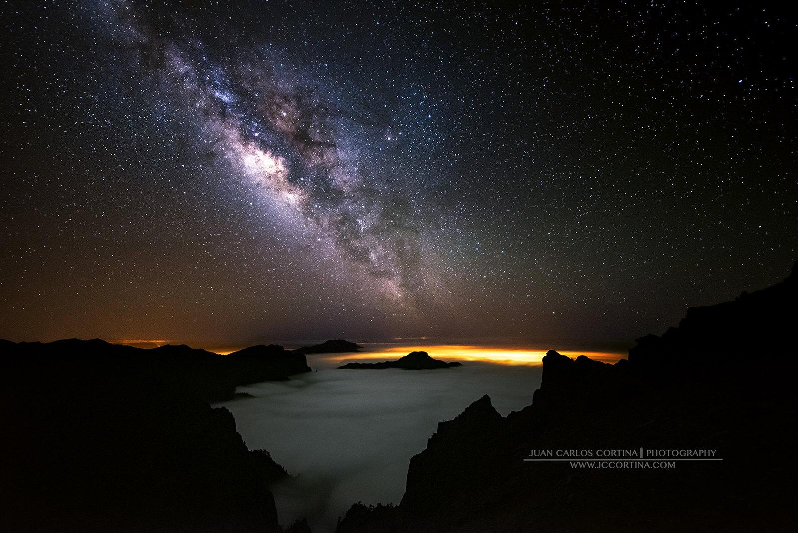 TIMELAPSE EL UNIVERSO DE LA PALMA. Mirador de los Andenes