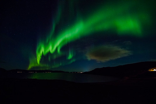 Close to hammerfest lights | by Kasaari