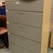 Tall grey 5 drawer filing unit E160