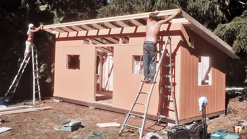 Tuff Shed construction | by jdroth