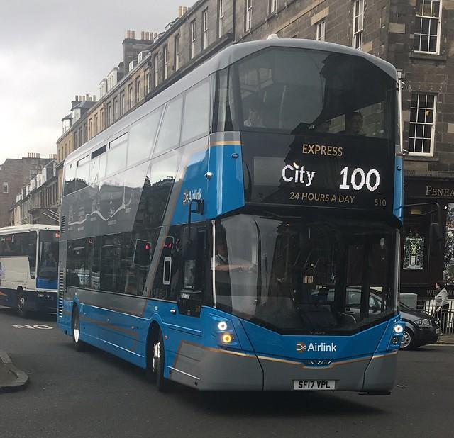 Lothian Buses Airlink 510 SF17 VPL (20.09.2017)