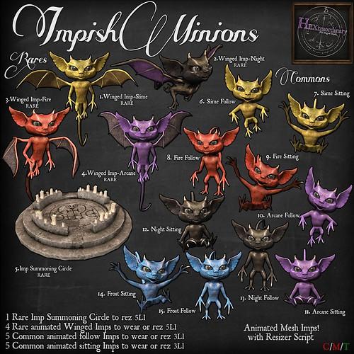 Impish Minions!!   by HEXtraordinary!