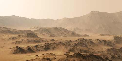 Postcard from Mars, Mojave Crater | by Seán Doran