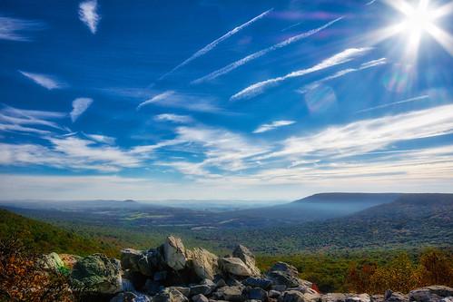 "hawkmountainmorning october 52in2017 week42 ""theme favorite things hawk mountain pa berks county hiking vista sky clouds rocks 1500 feet elevation"