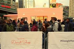 Google Home Mini Popup Donut Shop @ Dundas Square