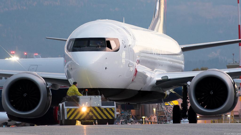 C-FTJV Air Canada Boeing 737 MAX 8