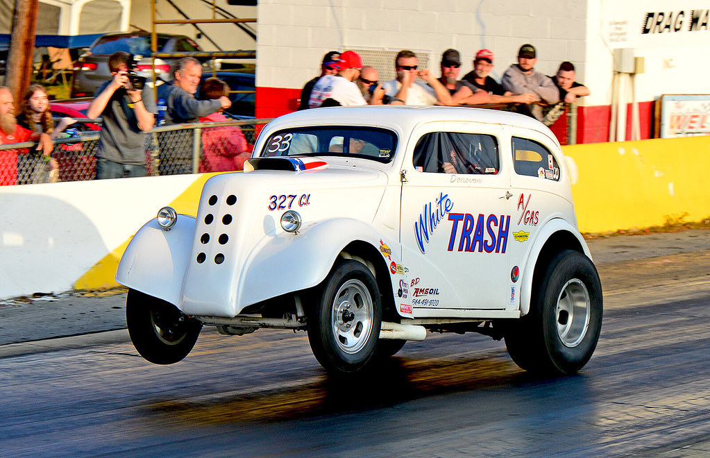 Donovan Stott in White Trash at the Southeast Gassers Fina… | Flickr