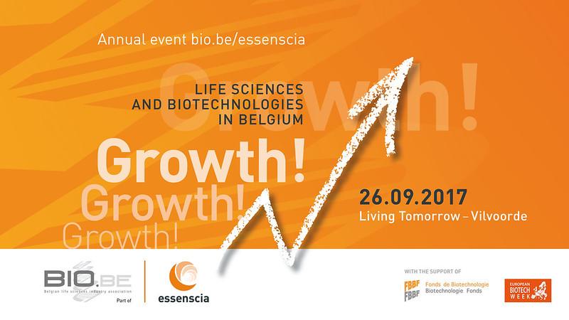 Bio.be/essenscia annual event 26/09/2017