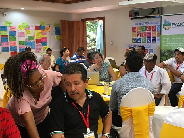 Participants Discuss and Share Ideas