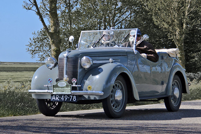 Austin Eight Tourer 1939 (3521)