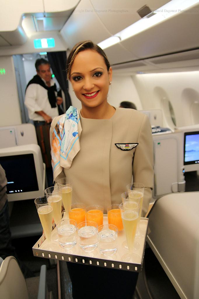 Hotesse Air Mauritius Totoro David D Flickr