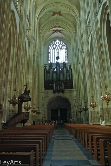 Cathédrale de Nantes - le grand orgue