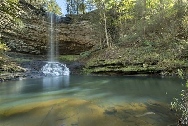 Upper Piney Falls, Piney Falls SNA, Rhea County, Tennessee