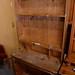Solid wood dresser kitchen with shelf E110