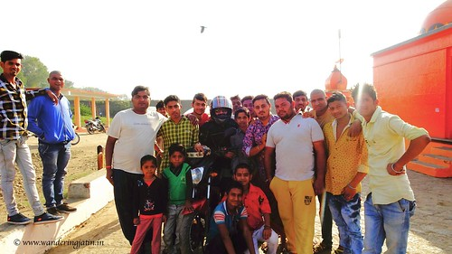 Photo with locals at Khalghat | by wanderingjatin