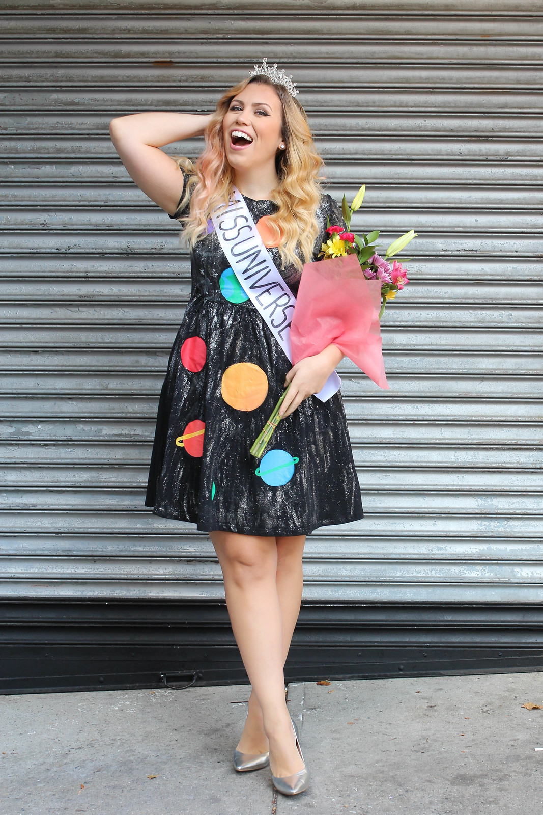 Miss Universe DIY Costume   Last Minute Halloween Costumes You Can Amazon Prime