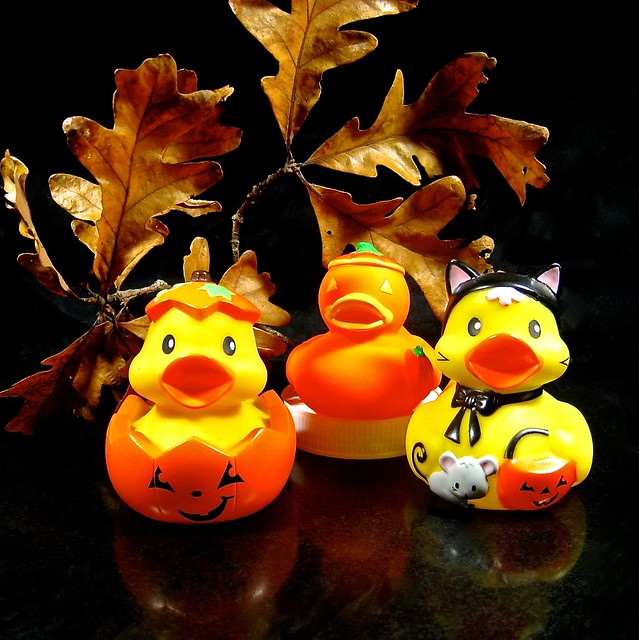 halloween in duckville
