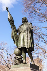 Christopher Columbus, Central Park, NYC