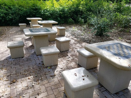 oakhammockpark florida sunrise browardcounty chesstables park seats