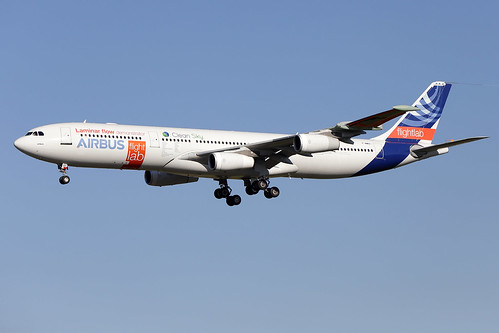 """AIRBUS  INDUSTRIE / Airbus  A 340-300   F-WWAI  """"BLADE"""" / LFBO - TLS / oct 2017   by gimbellet"""