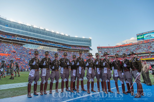 2017 Football Game - Texas A&M at Florida