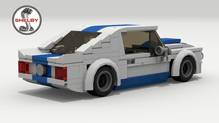 1965 Shelby GT350R (rear view) | by LegoGuyTom