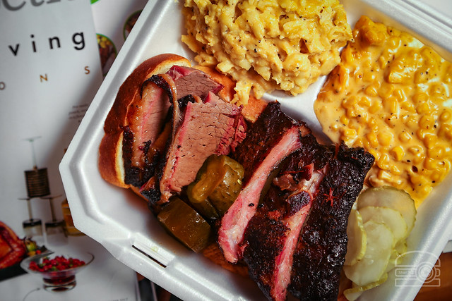Brisket, Ribs, Cheesy Corn, Mac & Cheese - Woodburn Shanks