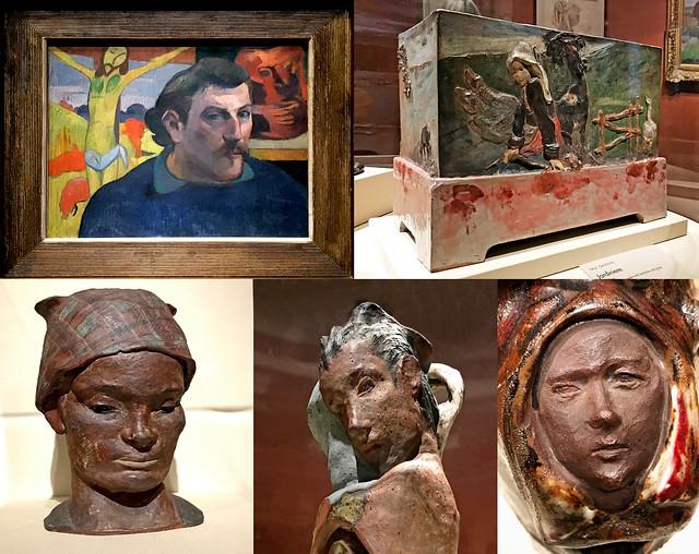 Paul Gauguin ceramics in Chicago