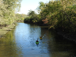 Kayaking on Des Plaines River - near Wright Woods Canoe Launch | by plunkettb