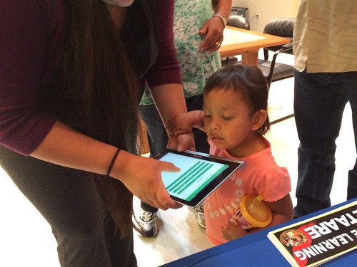 Testing Hidatsa Vocab Builder with the young ones! | by The Language Conservancy