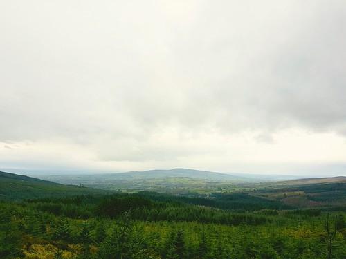 mullaghcairn gortin gortinglenn glenns tyrone countytyrone mountains mountainview mountainscape ireland europe skyline skyscape pinetrees nature green