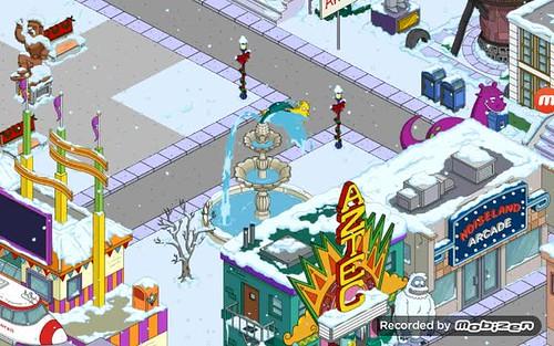 Mr. Burns' fountain task.
