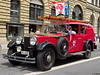 76b- 1940 Rolls Royce Pikettfahrzeug Städtischen Feuerwehr Lenzburg