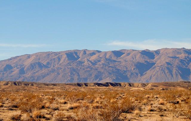 Desert Dropoff, McCoy Mountains