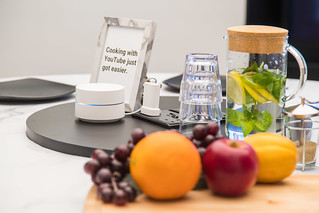 Google Wifi in a kitchen | by RainbowDiaries Blogsite Singapore