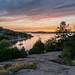 Sonnenuntergang zwischen Orust und Tjörn by lippediak