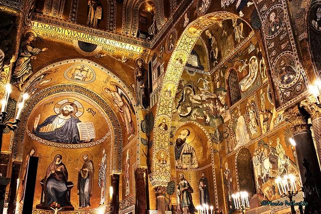 Palermo: La Cappella Palatina...