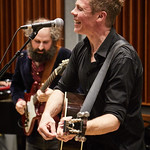 Wed, 20/09/2017 - 7:49am - Josh Ritter and his band perform for a WFUV Public Radio broadcast at Gibson Guitar Studios in New York City, 9/20/17. Hosted by Rita Houston. Photo by Gus Philippas/WFUV