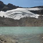 Schoolroom Glacier from tarn outlet