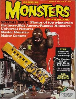 Famous Monsters No. 32 ( Warren 1965 )