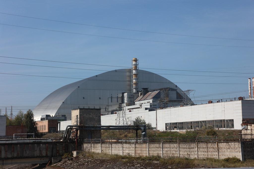 Chernobyl sarcophagus   Chernobyl Ukraine   Raymond
