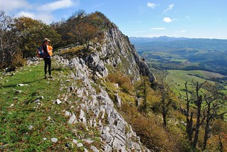 The escarpment on Berrendi, GR11 | by Pikes On Bikes
