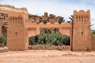 Aït Benhaddou village entrance