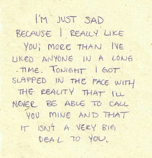 Sad Love Quotes Your Not Mine Love Sad Love Quotes Flickr